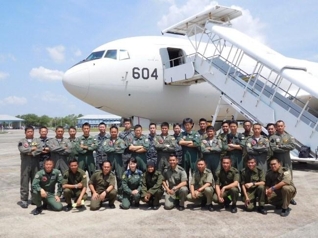 航空自衛隊のKC-767が訪問し防...