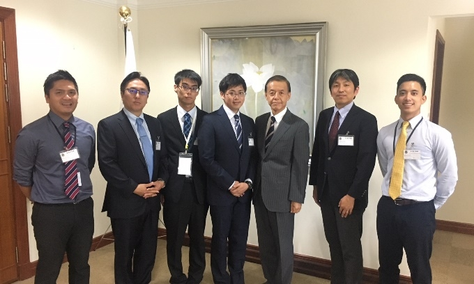 12th international summer medical school between paprsb institute on 24 july ambassador kato received the courtesy visit by the students and professors from kagawa university at the embassy and exchanged views on publicscrutiny Image collections